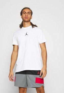 Jordan - DRY AIR - T-Shirt basic - white/black