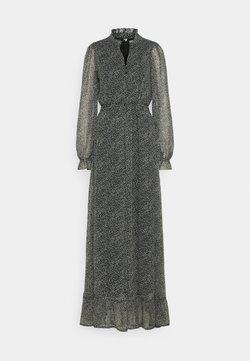 Vero Moda Tall - VMHIBISCUS SMOCK MAXI DRESS TALL - Maxi-jurk - black