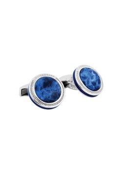 Tateossian - SIGNATURE ROUND  - Manschettenknopf - blue
