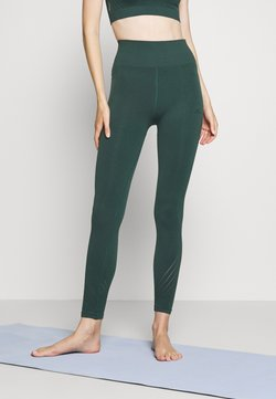 ONLY Play - ONPJAVO CIRCULAR TIGHTS - Leggings - darkest spruce