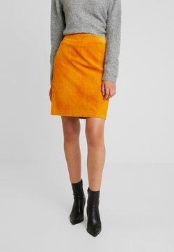 Vila - Mini skirt - golden oak