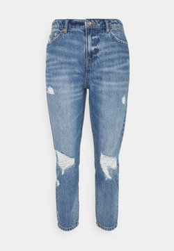 ONLY - ONLTONNI LIFE BOYFRIEND - Relaxed fit jeans - medium blue denim