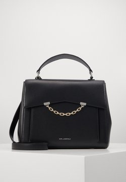 KARL LAGERFELD - SEVEN TOP HANDLE - Torebka - black