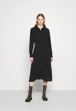 JDY - JDYPIPER ABOVE CALF DRESS - Paitamekko - black