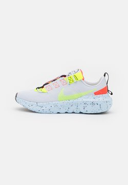 Nike Sportswear - CRATER IMPACT - Baskets basses - football grey/volt/hyper crimson/black/summit white/chambray blue