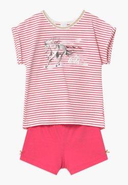 Sanetta - SHORT STRIPE HORSE - Yöasusetti - pretty pink
