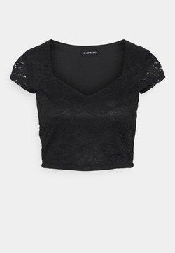 Even&Odd Petite - Print T-shirt - black