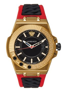 Versace Watches - CHAIN REACTION - Uhr - red/gold-coloured