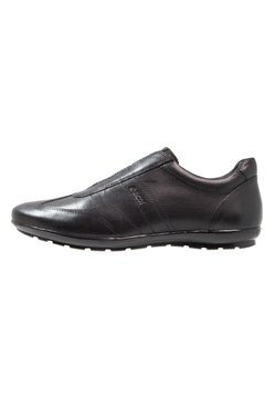 Geox - UOMO SYMBOL - Loaferit/pistokkaat - black