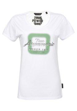 CODE | ZERO - T-Shirt print - white