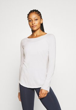 Yogasearcher - KARANI - Camiseta de manga larga - white