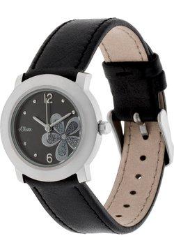 s.Oliver - Uhr - schwarz