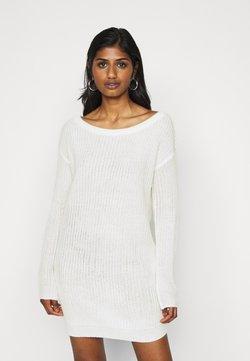 Missguided Petite - AYVAN OFF SHOULDER DRESS - Robe pull - white