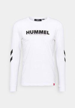 Hummel - LEGACY - Pitkähihainen paita - white