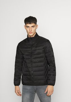 Burton Menswear London - LIGHTWEIGHT PUFFER - Overgangsjakker - black