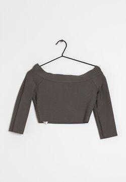 BCBGMAXAZRIA - T-shirt à manches longues - grey