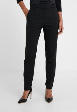 HUGO - THE CROPPED TROUSER - Pantalon classique - black