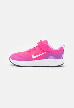 Nike Sportswear - WEARALLDAY UNISEX - Matalavartiset tennarit - hyper pink/white/fuchsia glow/dark smoke grey