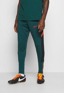 Nike Performance - PANT SOCK CUFF - Jogginghose - dark atomic teal/black/electro orange