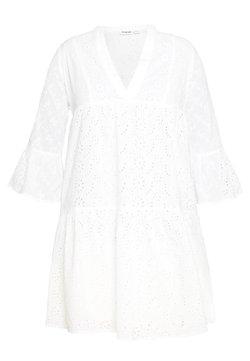 Noisy May - NMSELIN - Korte jurk - bright white
