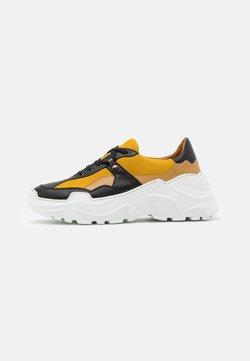 Hash#TAG Sustainable - Sneakers laag - palermo nero/yellow/lucrezia