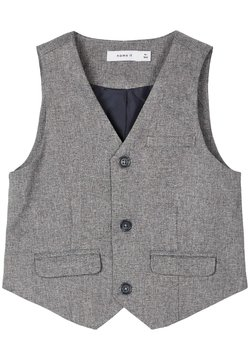 Name it - Gilet elegante - grey melange
