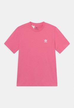 adidas Originals - TEE UNISEX - T-shirt basique - rose tone/white
