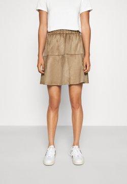 Vero Moda - VMSUMMERMY  - A-line skirt - beige
