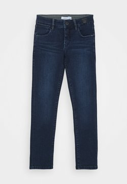 Name it - NKMSILAS TOGO 86 PANT - Straight leg jeans - dark blue denim