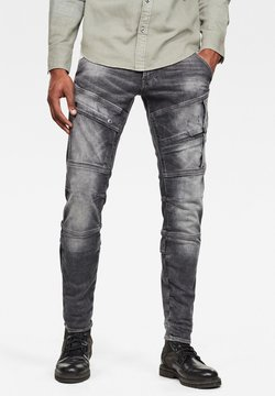 G-Star - AIRBLAZE 3D SKINNY - Jeans Skinny Fit - vintage basalt destroyed