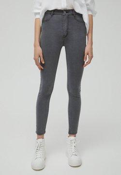 PULL&BEAR - SKINNY - Jeans Skinny - dark grey
