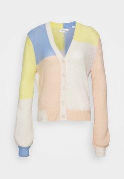 CHINTI & PARKER - CARDIGAN - Vest - beige/blue/limone