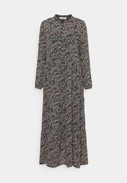 Moss Copenhagen - GLORIE RIKKELIE  DRESS - Maxikleid - black