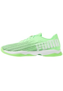 Puma - ADRENALITE 4.1 - Chaussures de handball - elektro green/white/black