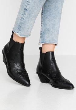 NA-KD - Korte laarzen - black