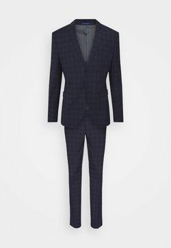 Isaac Dewhirst - CHECK - Costume - dark blue