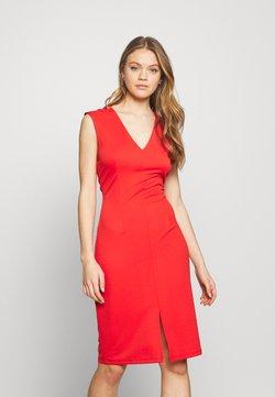 Vero Moda - VMDOLLY SHORT DRESS - Vestido de tubo - aurora red