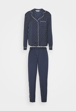 Marks & Spencer London - SPOT REVERE - Pyjama - navy