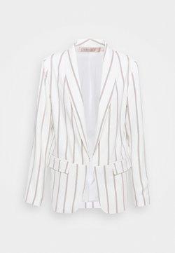 Esqualo - BLAZER STRIPED - Blazer - off-white