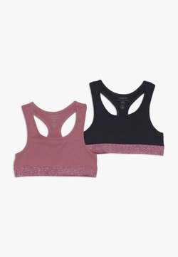 Name it - NKFSHORT 2 PACK - Brassière - heather rose
