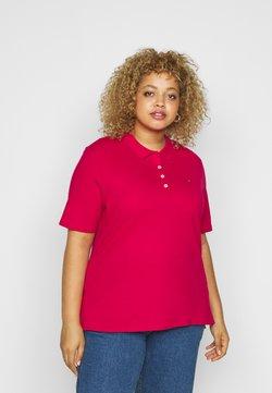 Tommy Hilfiger Curve - ESSENTIAL - Poloshirt - ruby jewel