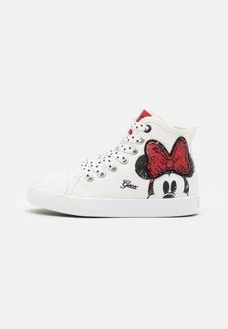 Geox - CIAK GIRL DISNEY - Sneaker high - offwhite/red