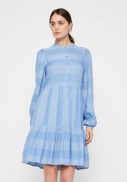 YAS - YASLAMALI DRESS - Blusenkleid - blue water bell