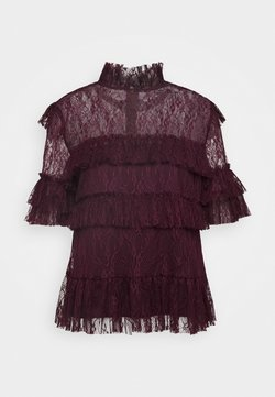 By Malina - RACHEL BLOUSE - Blouse - deep wine