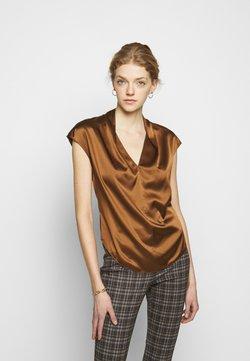 Theory - DRAPE  - Blouse - copper brown