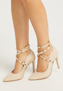 faina - Sandalen met hoge hak - nude