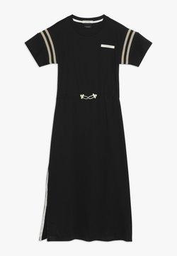 Scotch & Soda - CLUB NOMADE SPORTY T-SHIRT DRESS - Jerseykleid - black