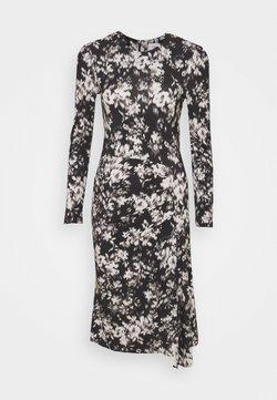 Marc O'Polo PURE - DRESS DRAPY SKIRT - Sukienka z dżerseju - black