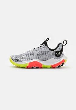 Under Armour - SPAWN 3 - Chaussures de basket - halo gray