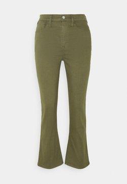 J.CREW - BILLIE PANT - Trousers - loden green